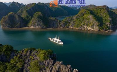 Luxry Jade Sails full day Halong bay - Lan ha bay